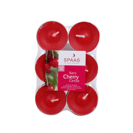 SPAAS Värmeljus Cherry 12p