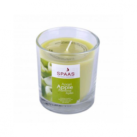 SPAAS Apple doftljus i glas