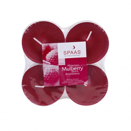 SPAAS Värmeljus Stora Mulberry 4p