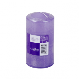 SPAAS Blockljus Lavender 70/130 mm