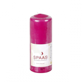 SPAAS Blockljus 60/150mm Cerise