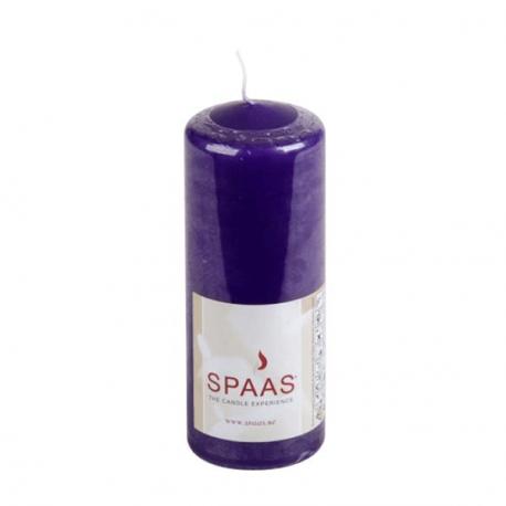 SPAAS Blockljus 60/150mm Lila