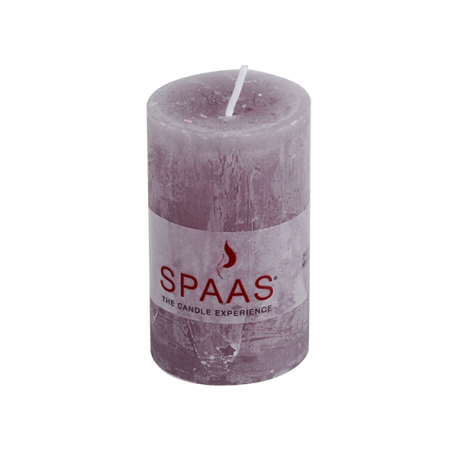 SPAAS Blockljus 50/80mm Rustik Grå