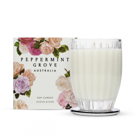 Peppermint Grove Austin & Loud - Large Candle 350G